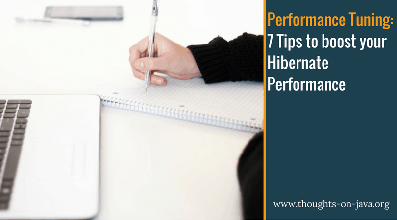 Performance optimization tuning ee and pdf 7 java