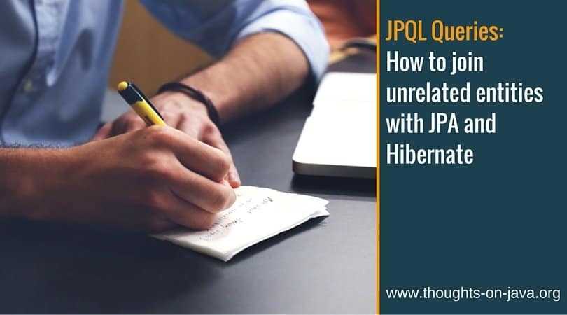 How to join unrelated entities with JPA and Hibernate