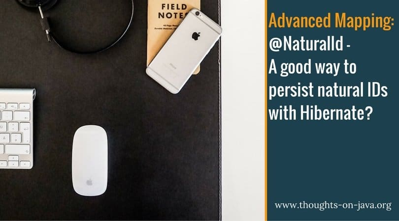 @NaturalId – A good way to persist natural IDs with Hibernate_