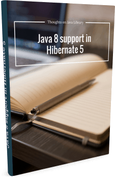 Native Queries with Hibernate - 3d cover