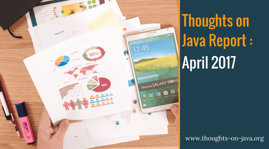 Thoughts on Java Report_ April 2017