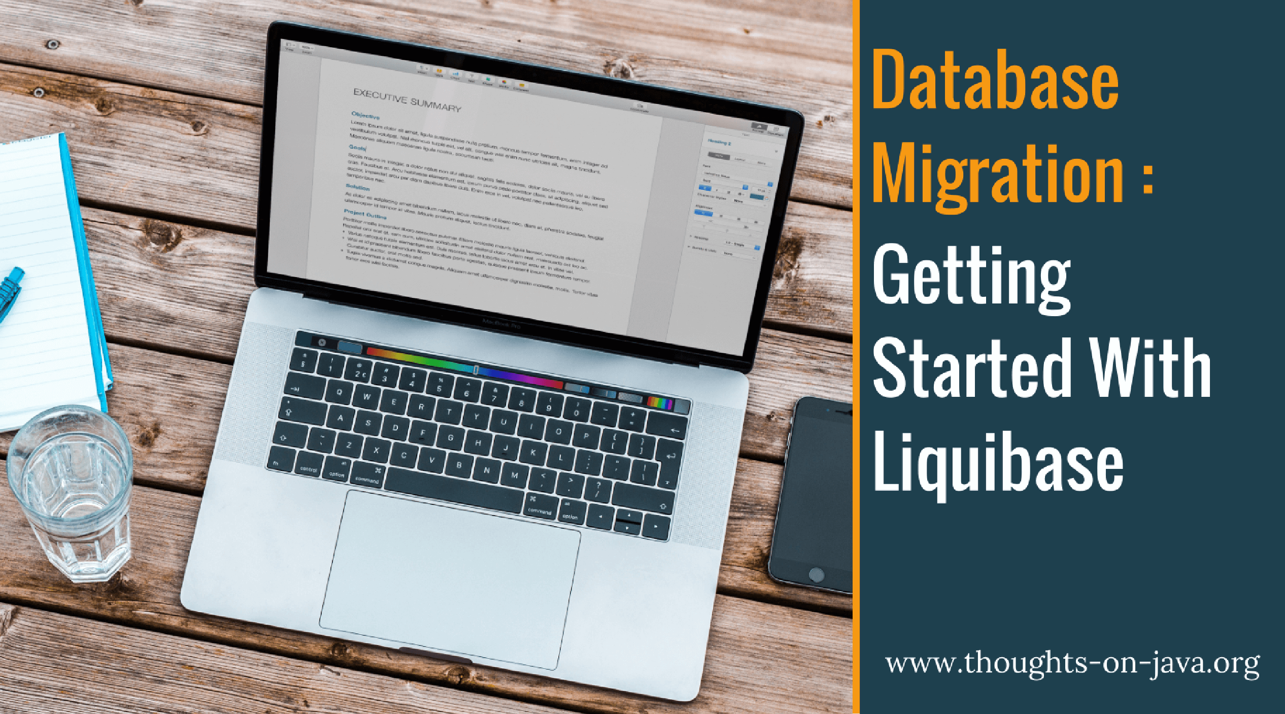 Database Migration with Liquibase