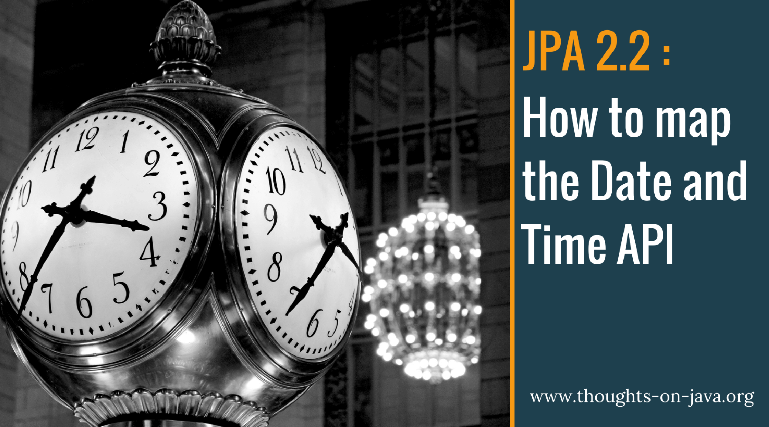How To Map The Date And Time API with JPA 2 2